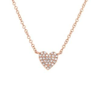 Jewelry - BRAND NEW Rose Gold Heart Necklace ❤️